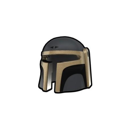 Dark Gray Mando Barin Helmet