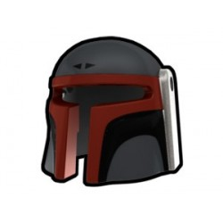 Dark Gray Mando Jaster Helmet