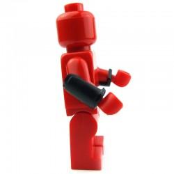 Lego Custom BrickForge Vambraces (noir) La Petite Brique