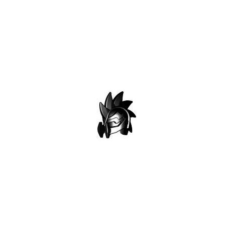 Lego Custom BRICK WARRIORS Casque Demon (noir) La Petite Brique