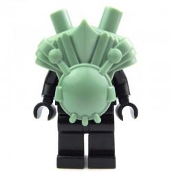 Lego Custom BRICK WARRIORS Armure Ogre à deux têtes (Sand Green) La Petite Brique