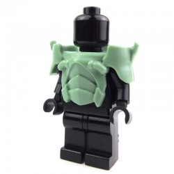 Lego Custom BRICK WARRIORS Armure Android (Sand Green) La Petite Brique