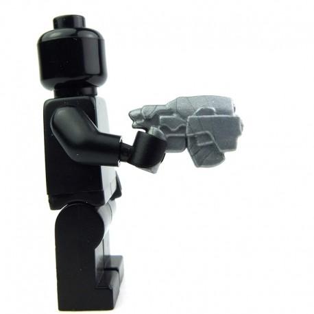Lego Custom BRICK WARRIORS Pistolet de chasseur de têtes (silver) La Petite Brique