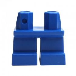 Lego Accessoires Minifig - Jambes courtes (bleu) La Petite Brique