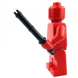 Lego Custom Si-Dan Toys Matraque Electrique (PR6) (noir) (La Petite Brique)