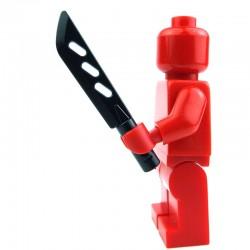 Lego Custom Si-Dan Toys Machette (noir) (La Petite Brique)