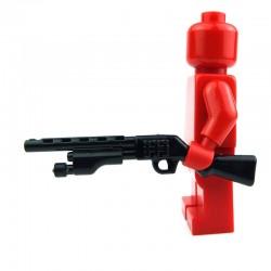 Lego Custom Si-Dan Toys Shotgun (M500t) (noir) (La Petite Brique)