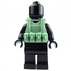 Lego Custom Si-Dan Toys Tactical Vest B12 (sand green) (La Petite Brique)