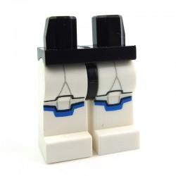 Lego Accessoires Minifig - Jambes - Clone Trooper marquage bleu (Star Wars) La Petite Brique