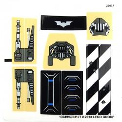 Sticker Tumbler Batman