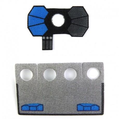 Lego Custom CapeMadness Epaulette et Kama Havoc La Petite Brique