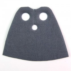 Short Cape (Dark Bluish Gray)
