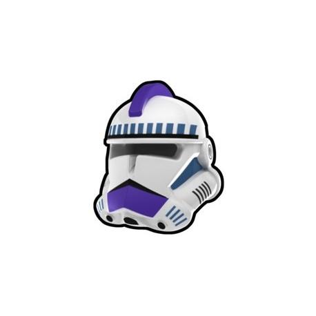 White Commander Mace Helmet