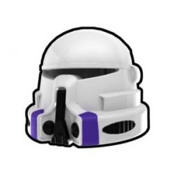 White Airborne Mace Helmet