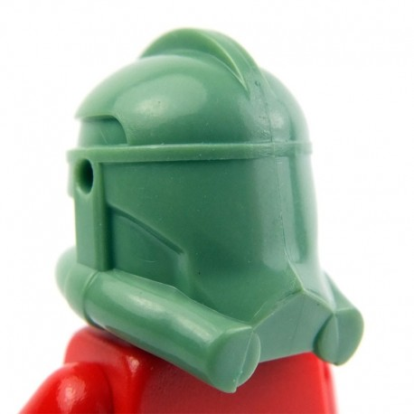 Lego Clone Army Customs Casque Clone Phase 2 (Sand Green) (La Petite Brique)