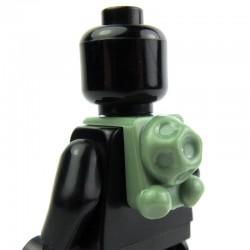Lego Clone Army Customs Scuba Back Pack (Sand Green) (La Petite Brique)