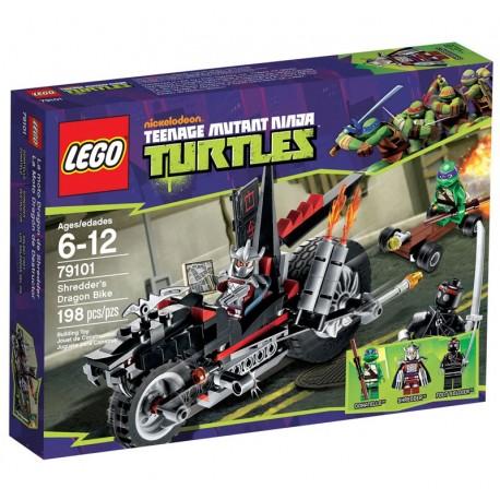 Lego TMNT Tortues Ninja 79101 - La Moto Dragon de Shredder (La Petite Brique)