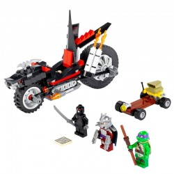 Lego TMNT Tortues Ninja 79101 - La Moto Dragon de Shredder (La Petite Brique)