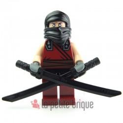 Lego Minifig Tortues Ninja TMNT Dark Ninja (La Petite Brique)