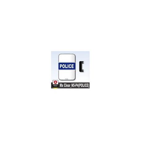 Lego Si-Dan Toys Bouclier Transparent POLICE (P4) (La Petite Brique)