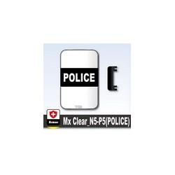 Lego Si-Dan Toys Bouclier Transparent POLICE (P5) (La Petite Brique)