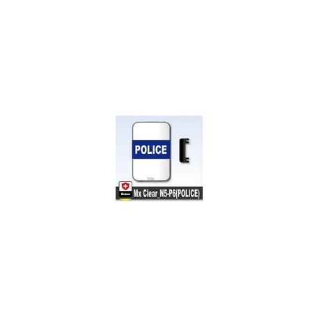 Lego Si-Dan Toys Bouclier Transparent POLICE (P6) (La Petite Brique)