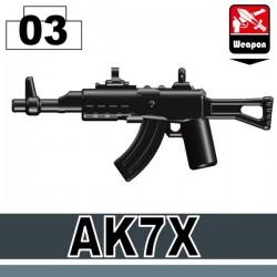 Lego Custom Si-Dan Toys AK7X (noir) (La Petite Brique)