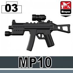 Lego Custom Si-Dan Toys MP10 (noir) (La Petite Brique)