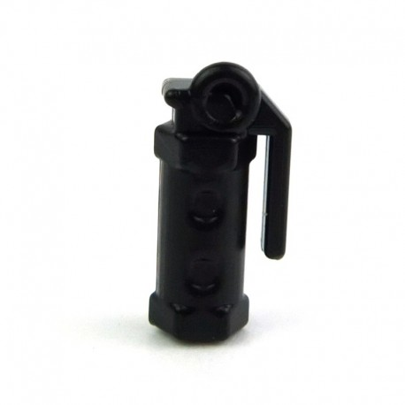 Lego Custom Si-Dan Toys Stun Grenade (M84) (noir) (La Petite Brique)