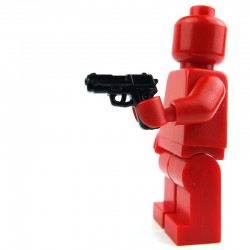 Lego Custom Si-Dan Toys P228 (noir) (La Petite Brique)