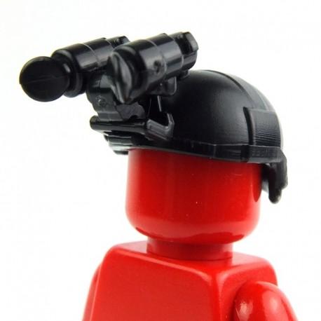 Helmet BK1X + Night Vision (ANVIS-S2) (Black)