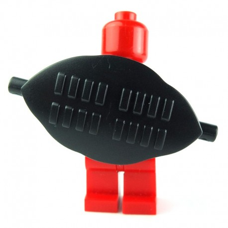 Lego Custom BRICK WARRIORS Bouclier Tribal (noir) La Petite Brique