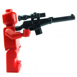 Lego Custom BRICK WARRIORS Fusil de Sniper (charcoal) La Petite Brique