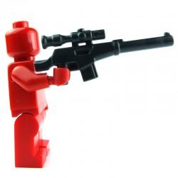 Lego Custom BRICK WARRIORS Fusil de Sniper (charcoal) La Petite Brique