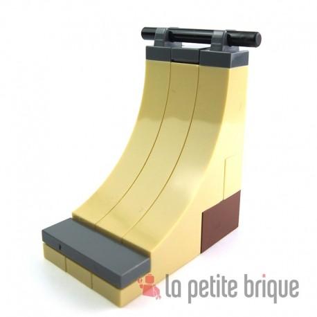 Lego Accessoires Mini set : Rampe de skate (La Petite Brique)
