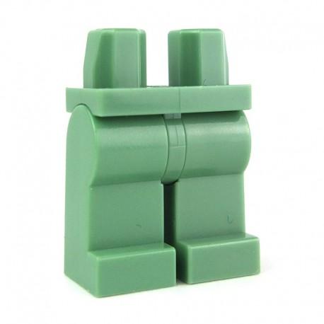 Lego Accessoires Minifig - Jambes (Sand Green) (La Petite Brique)