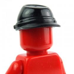 Lego Accessoires Minifig - Casquette Militaire - Kepi (Noir) (La Petite Brique)