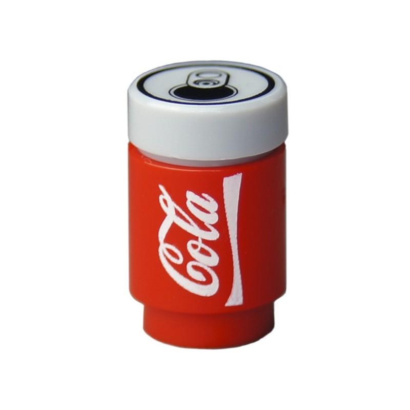 lego custom bricks custom minifig soda can cola la petite brique