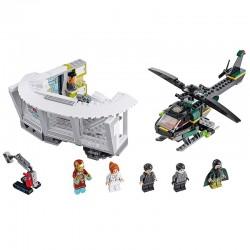 Lego 76007 - Iron Man : l'attaque de la villa de Malibu (La Petite Brique)