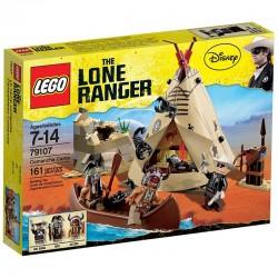 Lego The Lone Ranger 79107 - Le camp comanche (La Petite Brique)