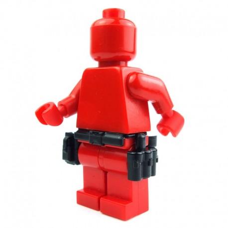 Lego Si-Dan Toys Ceinture Tactical G1 (noir) (La Petite Brique)