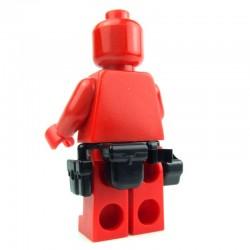 Lego Si-Dan Toys Ceinture Tactical G8 (noir) (La Petite Brique)