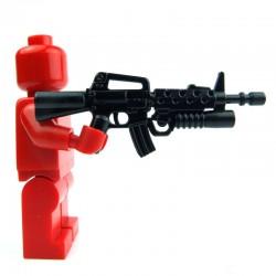 Lego Si-Dan Toys M16SB (noir) (La Petite Brique)