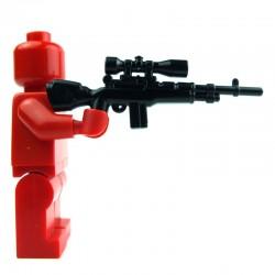 Lego Si-Dan Toys M14A (noir) (La Petite Brique)
