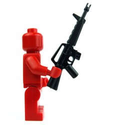 Lego Si-Dan Toys M16A1 (noir) (La Petite Brique)