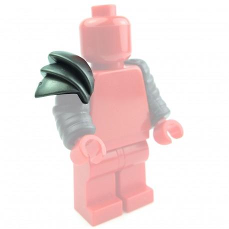 Lego Custom Accessoires Minifig BRICK WARRIORS Scaled Galerus (steel) (La Petite Brique)