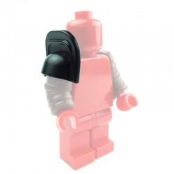 Lego Custom Accessoires Minifig BRICK WARRIORS Retiarius Galerus (noir) (La Petite Brique)