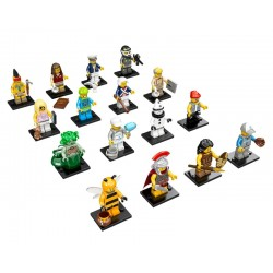 LEGO Serie 10 - 16 minifigures - 71001