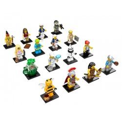 LEGO Series 10 - 16 minifigures - 71001