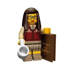 Lego Minifig Serie 10 la bibliothécaire (La Petite Brique)